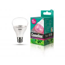 Camelion LED15-PL/BIO/E27 (Эл.лампа светодиодная для растений 15Вт 220В)