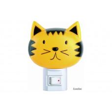 """Camelion NL-003 (ночник с выключателем (""""кошка""""), 220V, 7W) 9198"""