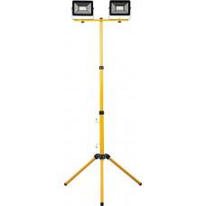 Светодиодный прожектор на штативе 2х50Вт 6400K IP65 LL-503 Feron