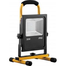 Светодиодный прожектор переносной с зарядным устройством 30Вт 6400K IP65 Feron LL-913