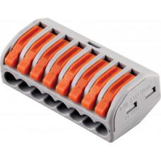 LD222-418 Cтроительно-монтажные клеммы 8-проводные