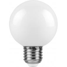 Лампа светодиодная (3W) 230V E27 2700K для белт лайта G60 LB-371