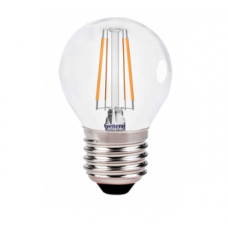 Лампа светодиодная GLDEN-G45S-8-230-E27-4500 Филамент