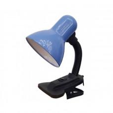Светильник настольный GTL-023-60-220 синий на прищепке GENERAL