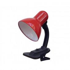 Светильник настольный GTL-025-60-220 красный на прищепке GENERAL