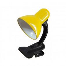 Светильник настольный GTL-026-60-220 желтый на прищепке GENERAL