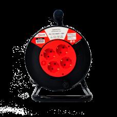 Светильник настольный под лампу СНП-01К на прищепке 40Вт E27 красный (мягкая упаковка) IN HOME
