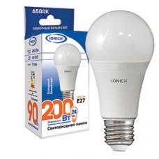 Лампа светодиодная A65 24Вт 2160Лм 220В 6500К E27 IONICH