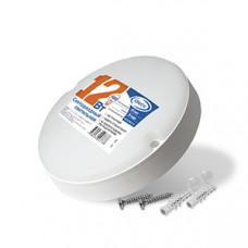 Светильник ЖКХ светодиодный круглый 12Вт 6500К 970Лм IP65 IONICH