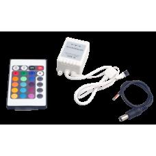 Контроллер RGB ZC-1000RC 12В 3х2А=72Вт (IR) JazzWay