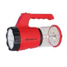 Ultraflash LED5162 (фонарь аккум. 220В, красный, 9LED + 5 SMD LED, SLA, пласт., коробка)