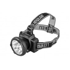 Ultraflash LED5363 (фонарь налобн аккум 220В, черный, 9LED, 2 реж, пласт, бокс)