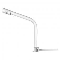 Кронштейн приставной для консольного светильника К1П-0,3-0,35-1-0,12х0,6 510х420х280 мм белый WOLTA