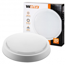 Светильник светодиодный DBO01-20-4K круг 20Вт 4000K IP20 1600 Лм 250x250x51 мм WOLTA