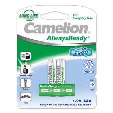 Аккумулятор Camelion R3(AAA)-600mAh Ni-Mh Always Ready BL-2 (NH-AAA600ARBP2, аккум-р, 1.2В) 2 шт.