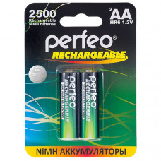 Аккумулятор Perfeo R06 2500 mAh BL2