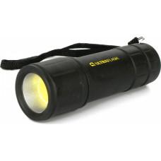 Ultraflash LED16001 (фонарь 3XR03, черный, COB LED 3Вт, пластик, блистер)