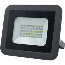 Прожектор светодиодный 50Вт 6500К 2310Лм c датчиком движения General GTAB-50-IP65-6500-S