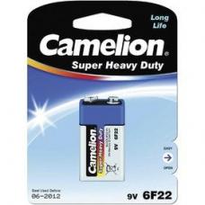 Элемент питания Camelion 6F22 Blue BL1